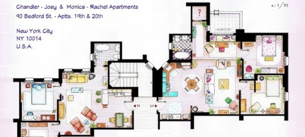 Le plan des appartements de vos s ries pr f r es for Plan d interieur de maison
