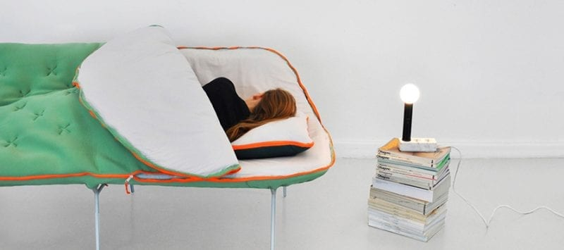 Camp daybed le canap r v pour tous les geeks for Canape rodier