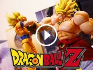 Dragon Ball Z : le combat de Goku contre Broly dans un sublime stop-motion