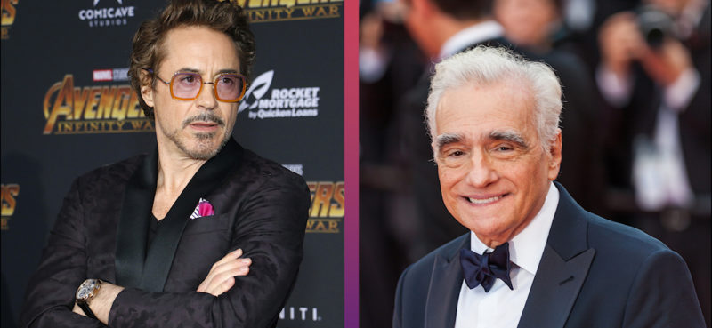 Robert Downey Jr. Martin Scorsese Marvel MCU