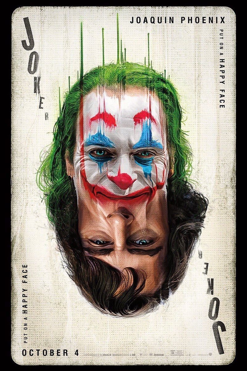 The Joker Joaquin Phoenix Card Arthur fleck