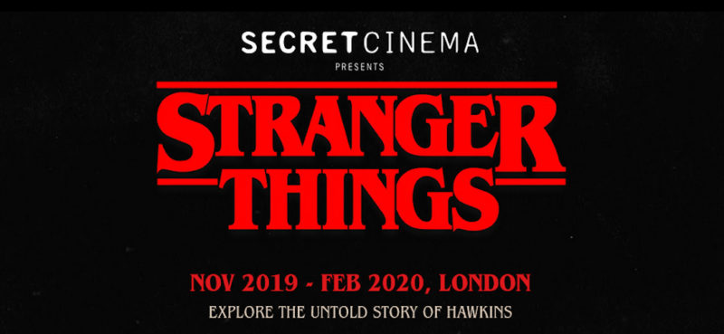 netflix secret cinema hawkins starcourt stranger things