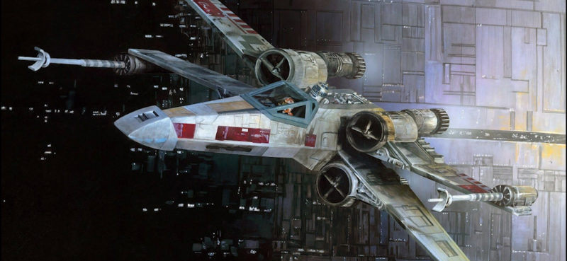 Star Wars vaisseau X-Wing